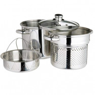 Pastagryta - Ångkokare, 4 liter  Kitchen Craft