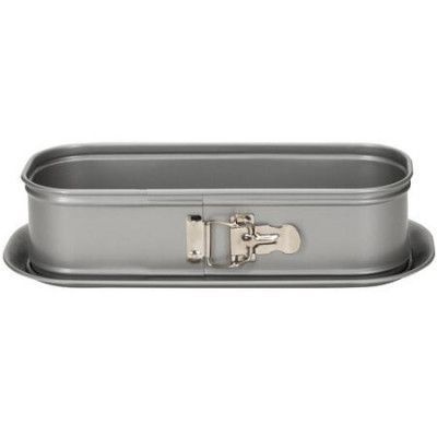 Patisse Silvertop springform avlång silverfärgad 30 cm