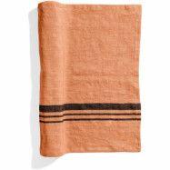 Top Drawer Bordslöpare LIFT i linné, stripe, Dry Terracotta