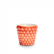 Bubbles Espressokopp Orange