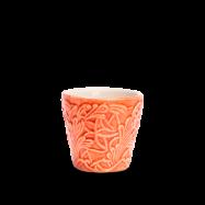 Spets Espressokopp Orange 10 cl