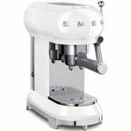 Smeg ECF01WHEU Retro 50-tals espressomaskin, vit
