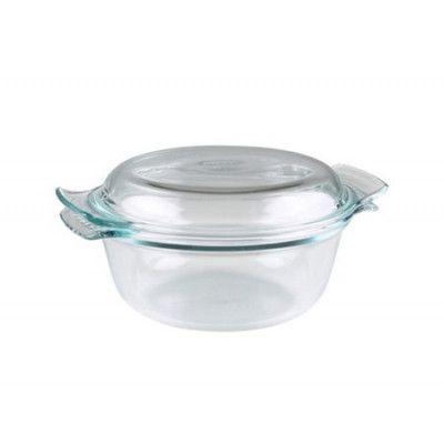 Pyrex Gryta med lock Glas Gryta med lock 2,5 l