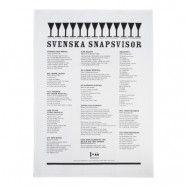 Svenska snapsvisor Handduk 50x70 cm