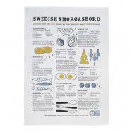 Swedish Smorgasbord Handduk 50x70 cm