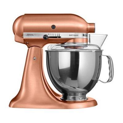 KitchenAid Artisan köksmaskin koppar 4,8 L