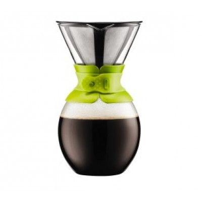 Bodum Kaffebryggare med Filter 1,5 liter Lime