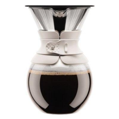Bodum Kaffebryggare med Filter 1 liter Vit