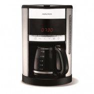 Kaffebryggare med Timer 12 koppar Vit