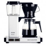 Moccamaster Kaffebryggare KBG741AO Vit Metallic