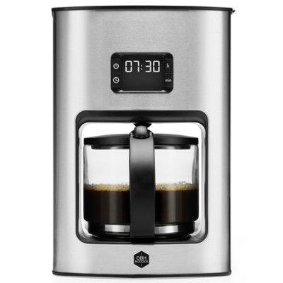 OBH Nordica Vivace Tempo, Kaffebryggare med Timer, 12 koppar