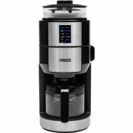 Princess Grind and Brew Compact Deluxe kaffemaskin