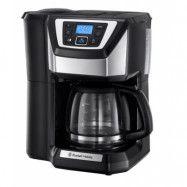 Russell Hobbs Chester Grind&Brew, Kaffebryggare med Kvarn och Timer, 12 koppar