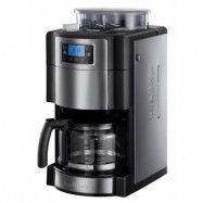 Russell Hobbs Grind&Brew Kaffebryggare med Kvarn och Timer, 10 koppar