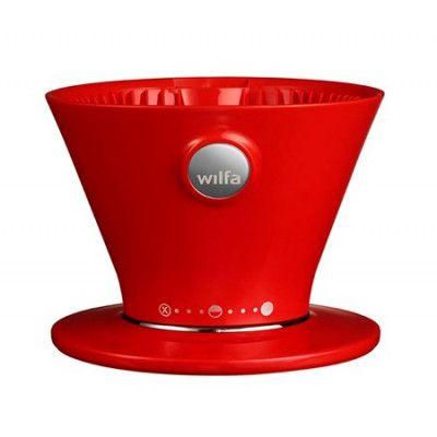 Wilfa Kaffebryggare Pour Over Röd