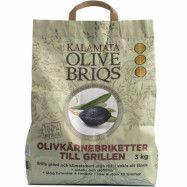 Kalamata Olivbriketter 3 kg.