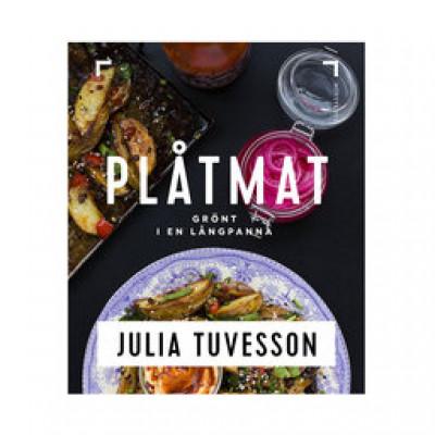 Plåtmat: grönt i en långpanna/Julia Tuvesson