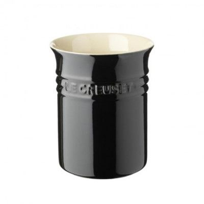 Le Creuset Köksredskapshållare Black 15 cm