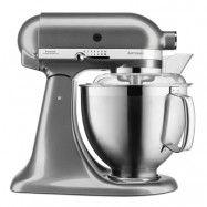 KitchenAid - Artisan Köksmaskin 4,8 + 3 L + Tillbehör Medallion Silver