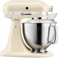 KitchenAid Artisan 5KSM185PSEAC Stand Mixer 4,8LCreme
