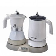 Ariete - Ariete Set Tekokare + Kaffemaskin Vit
