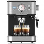 Espressomaskin med mjölkskummare