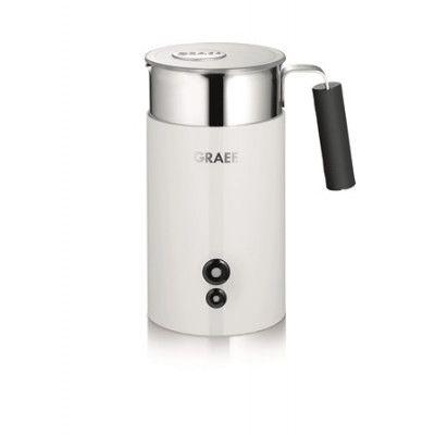 Graef MS701 Mjölkskummare med Löstagbar Behållare, Vit
