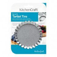 Tartelettformar, små pajformar 10 cm - Kitchen Craft