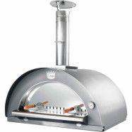 Clementi Family Vedeldad Pizzaugn 60x60 cm. Rostfritt stål