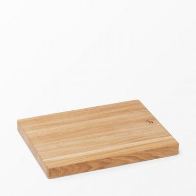 Slaktarblock utvald av Björn Frantzén, 35x45x4 cm