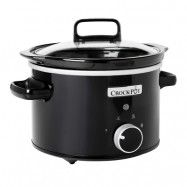 Crock-Pot Slowcooker 2.4 L Manuell Svart