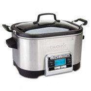 Crock-Pot Slowcooker Multifunktionell Med Timer 5.6 L Rostfri