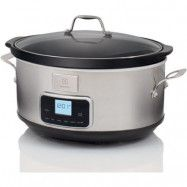 Electrolux ESC7400 Slowcooker Touch Control 6,8 liter Rostfritt Stål