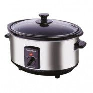 Morphy Richards Accent Slowcooker 3.5 L Svart/Silver