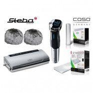 Steba Sous Vide-paket med Cirkulator, Vakuumförpackare och Tillbehör