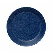 Teema tallrik 17 cm melerad blå