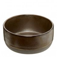 Raw Skål 13,5 cm Metallic Brown