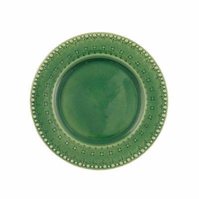 Romance Tallrik flat 21,5 cm Grön