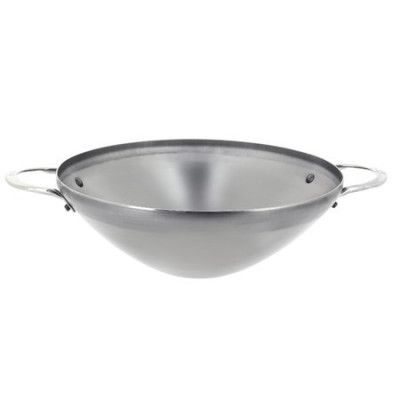 WOK MINERAL B ELEMENT WITH 2 HANDLES 32cm